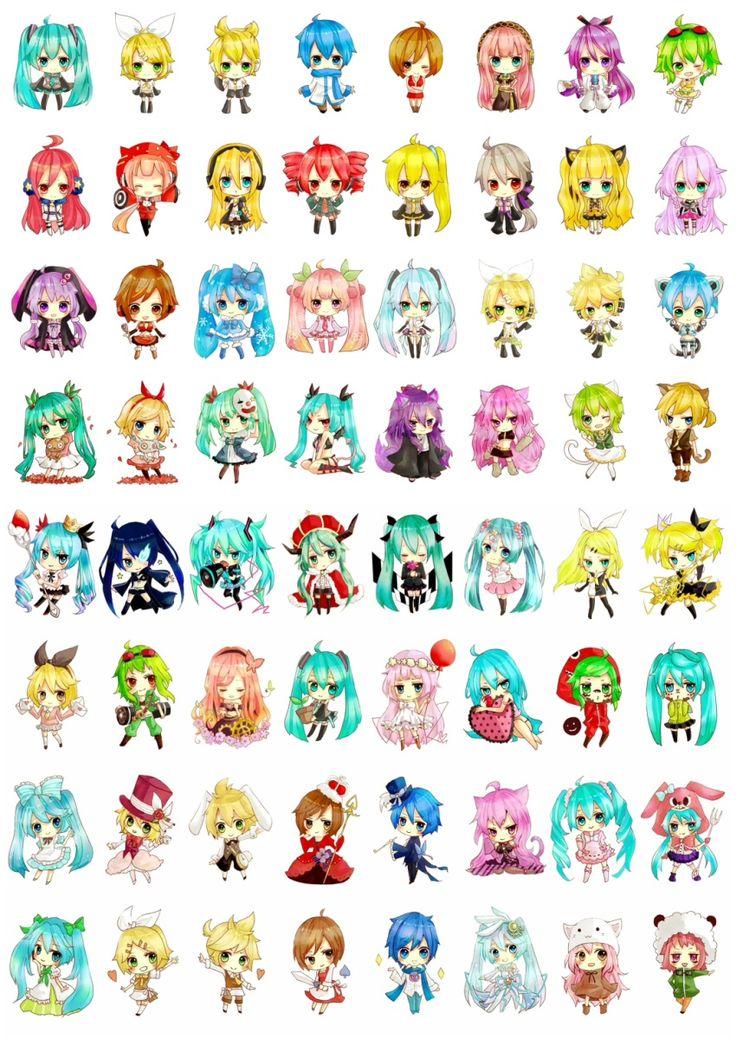Vocaloid chibi's Vocaloid Pinterest More Vocaloid