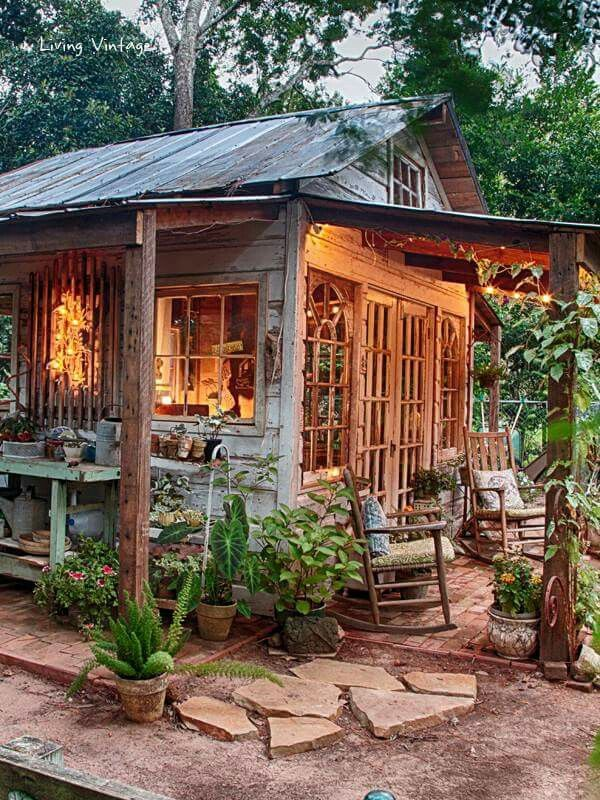 Rustic shed ..someday Pinterest Sheds, Rustic