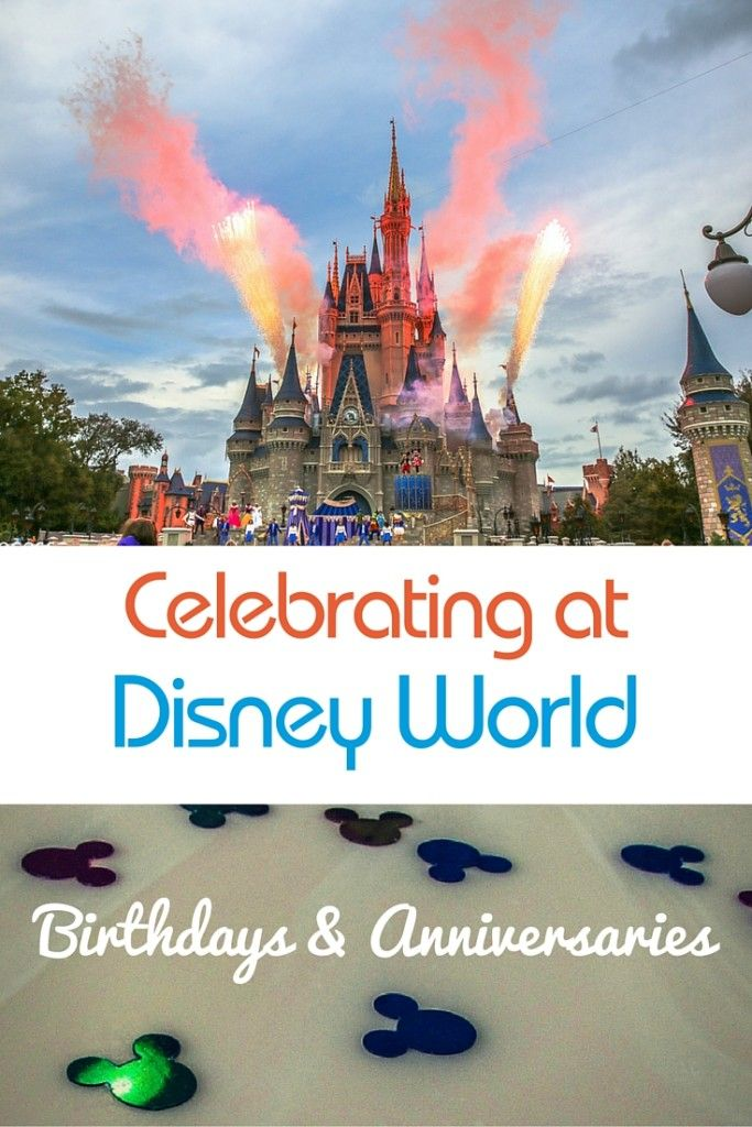 The Most Joyous Disney Celebrations Birthday and