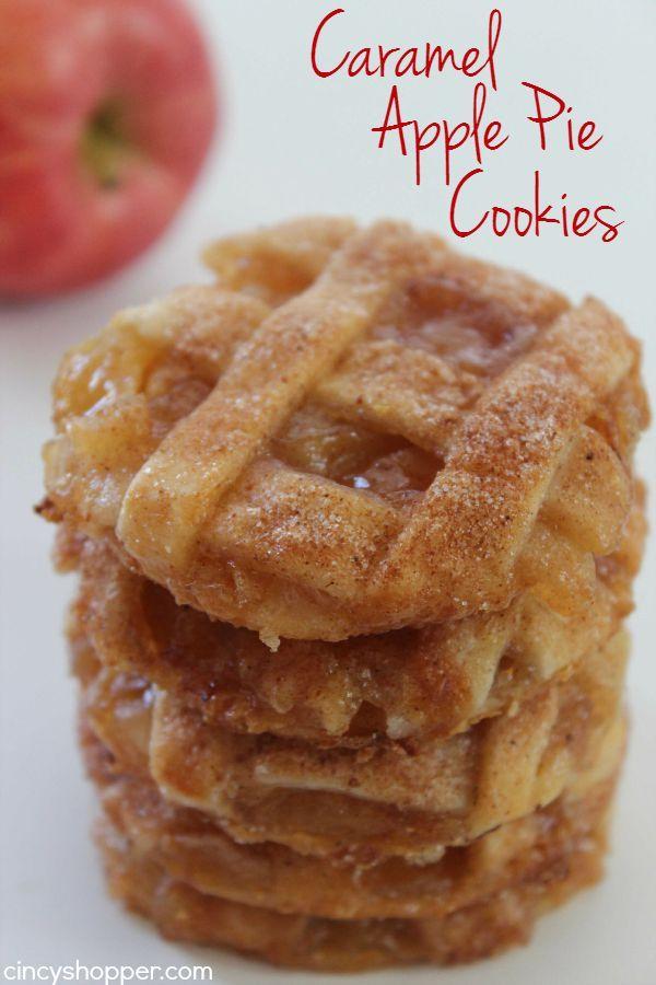 Caramel Apple Pie Cookies by Cincy Shopper