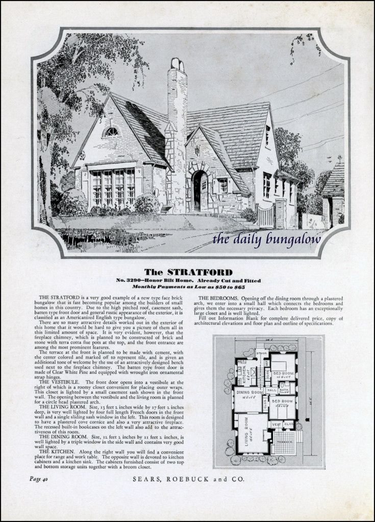 Homes of TodaySears Kit Houses1932 Flickr Photo