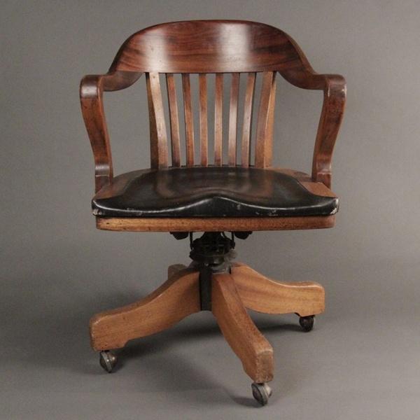 Swivel Banker Chair 1940's I'v always waned one of