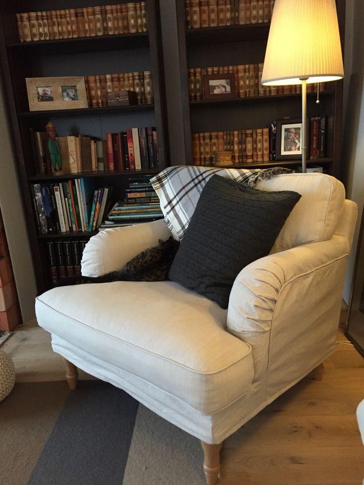 Ikea Stocksund Chair Want With A Comfy Footstool Love