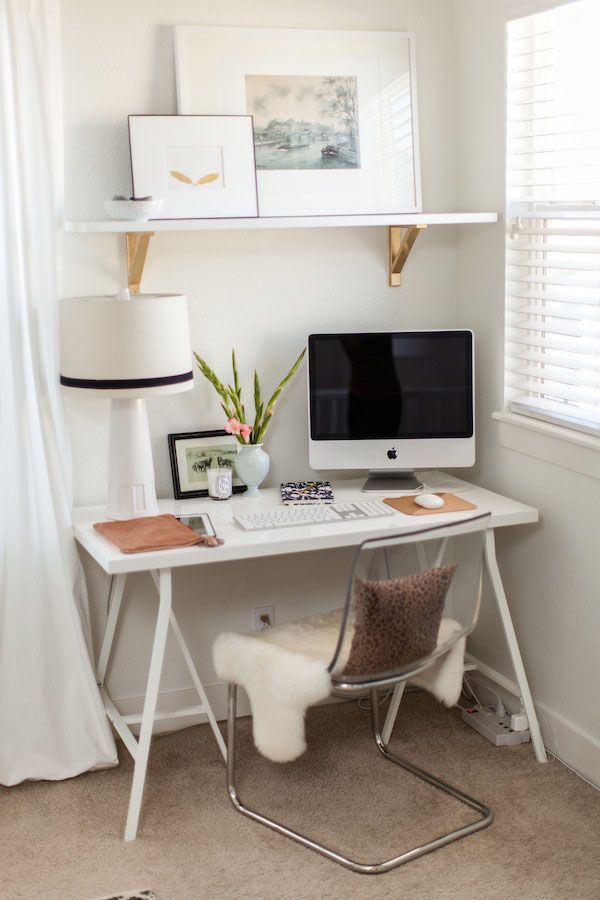 Elegant home office style 7 30 Creative Home Office Ideas: Working from Home in Style: