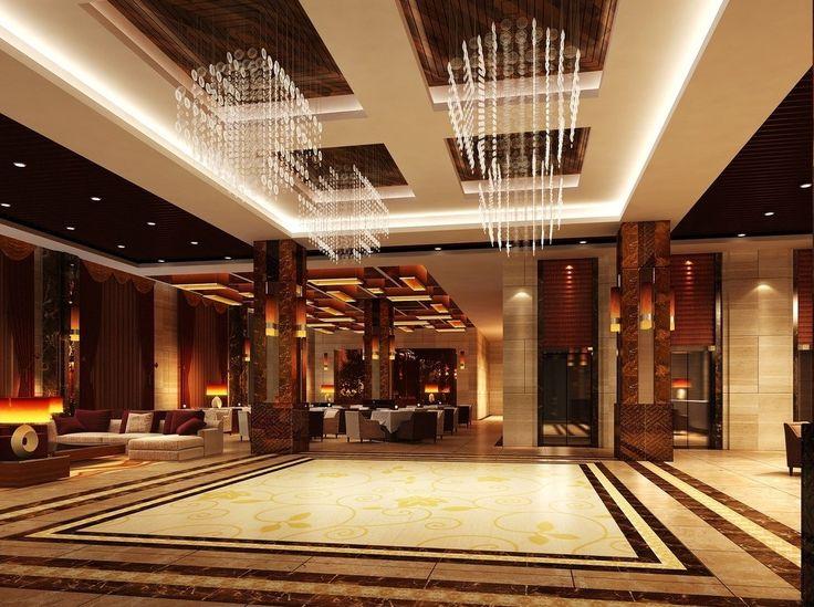 Interior Hotel Lobby Design