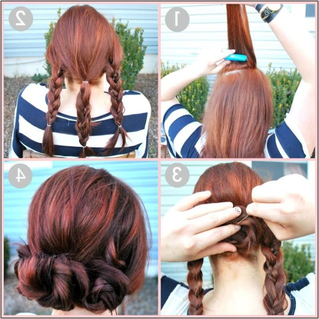 Quick  And Easy  Updo  Hairstyles  For Medium Length Hair I