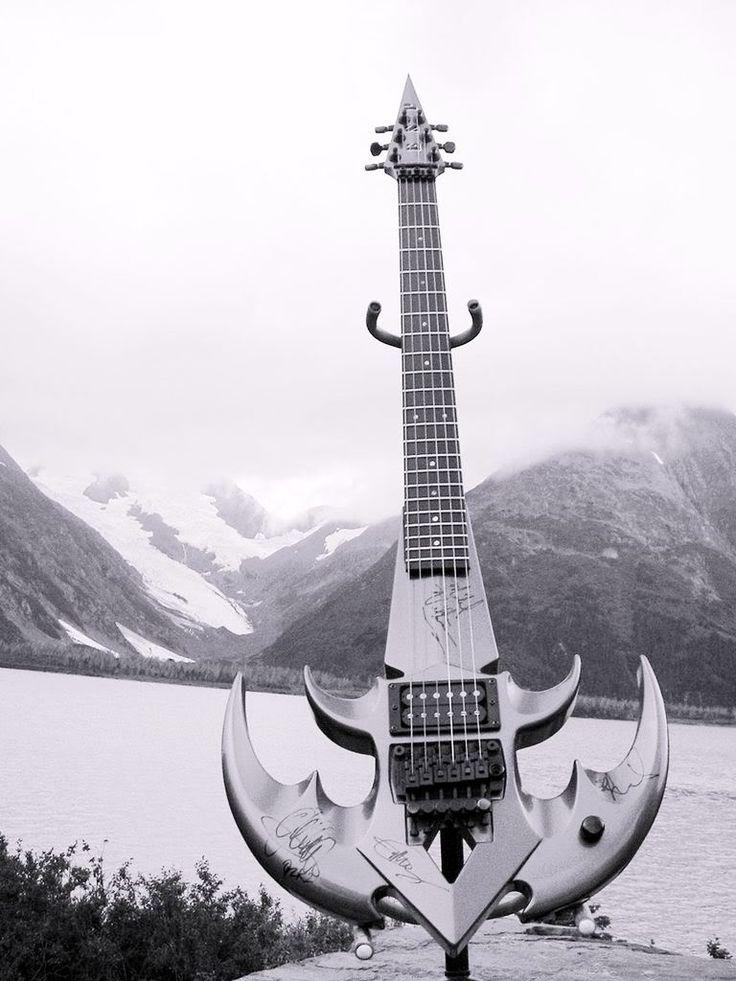 ESP Queensryche Tri Ryche Guitar Guitars Pinterest
