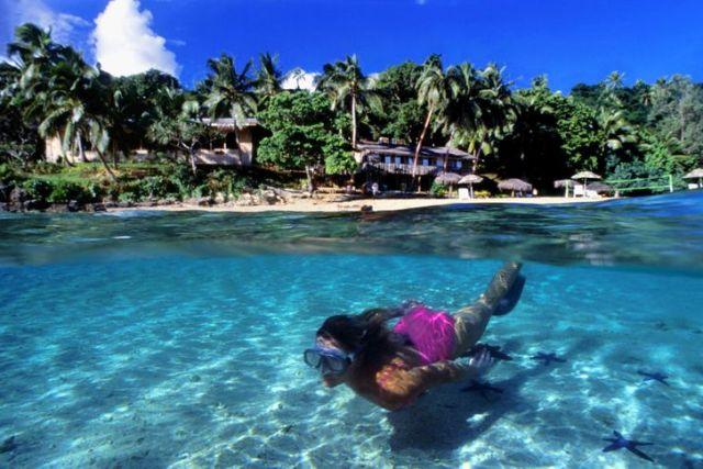 Kayak Vava'u Islands, Tonga