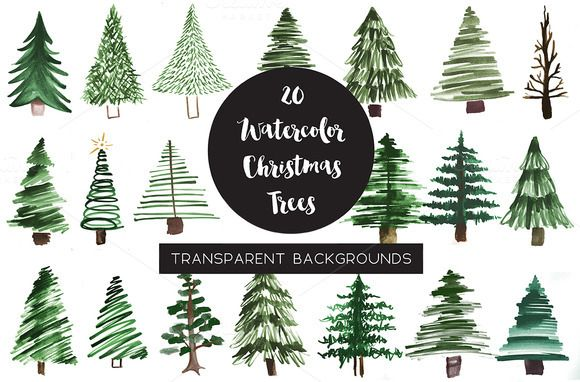 25+ Best Ideas About Watercolor Christmas On Pinterest