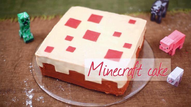 Minecraft Cake Recipe Minecraft Videos And Cakes