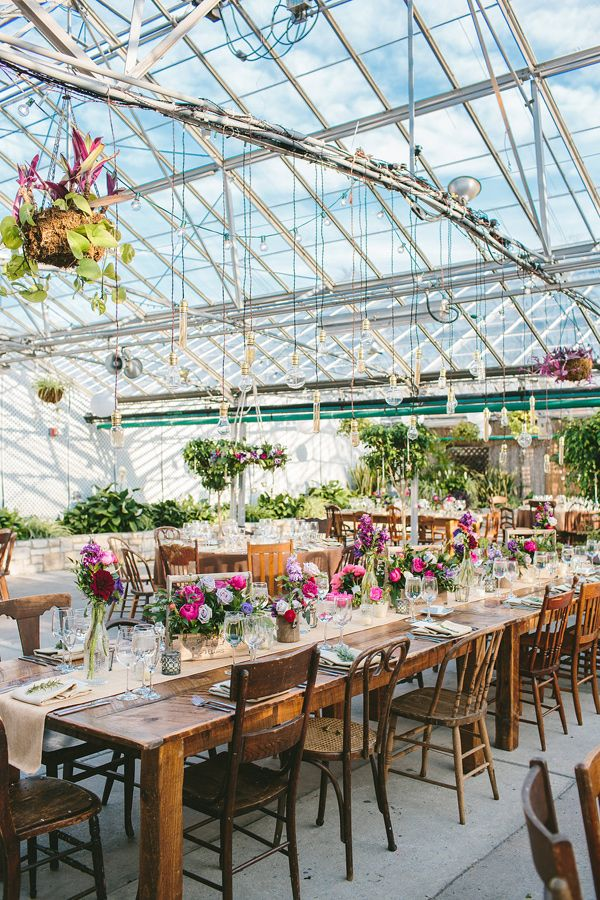 Rustic Elegance At The Horticulture Center Receptions