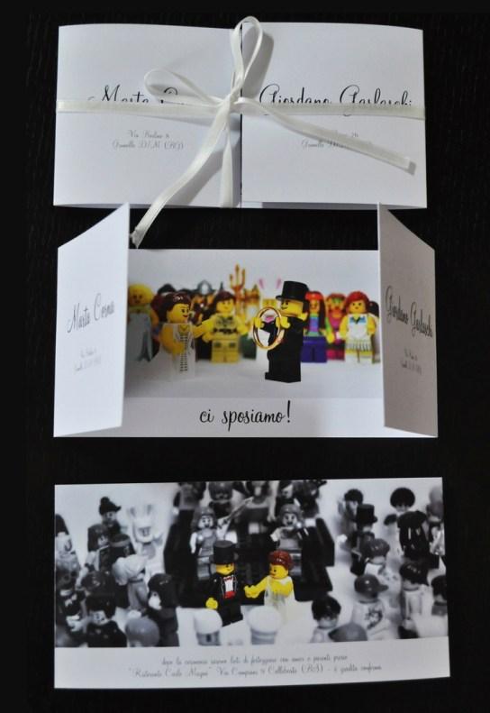 Wedding Lego www.priscadesign.it: