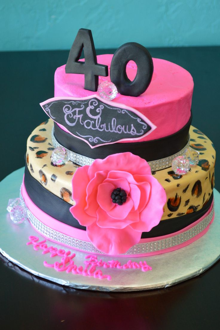 40 And Fabulous Cake My Cakes Pinterest Cakes And 40