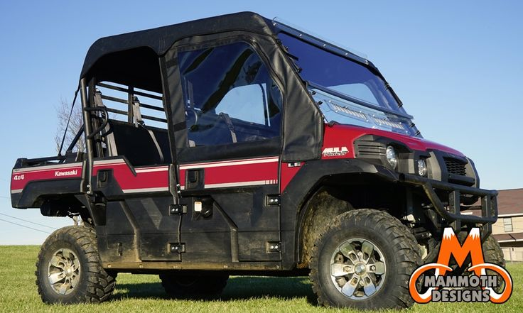 Kawasaki Mule 550 Door Kits