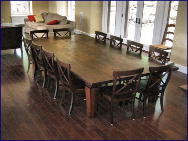 Dining Table Seats 14 - Google Search