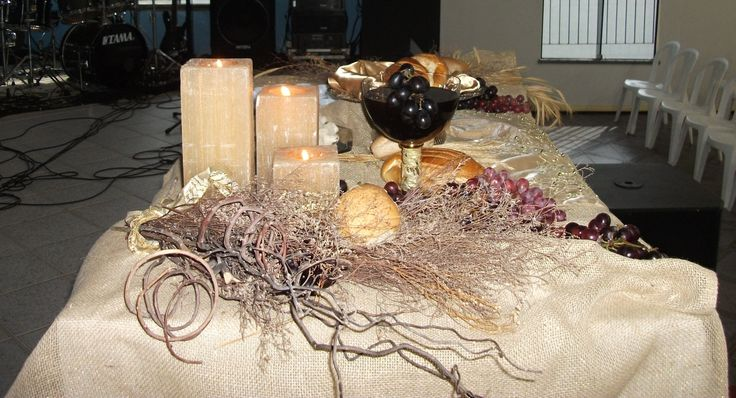 Mesa Ceia De Ano Novo Na Igreja HandFactory By Vera