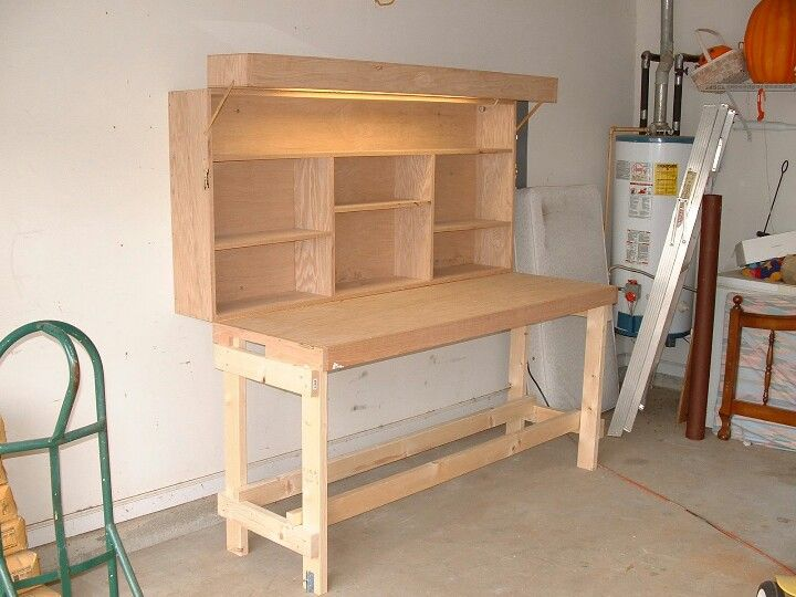 Folding Workbench Want This For My Garage Future
