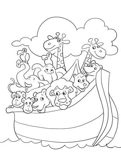 noahs ark craft noahs ark coloring page coloring pages noah ark