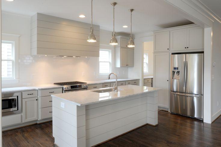 Revere Pewter Kitchen Carrara Marble Shiplap Vent Hood Abode Pinterest Pewter Revere