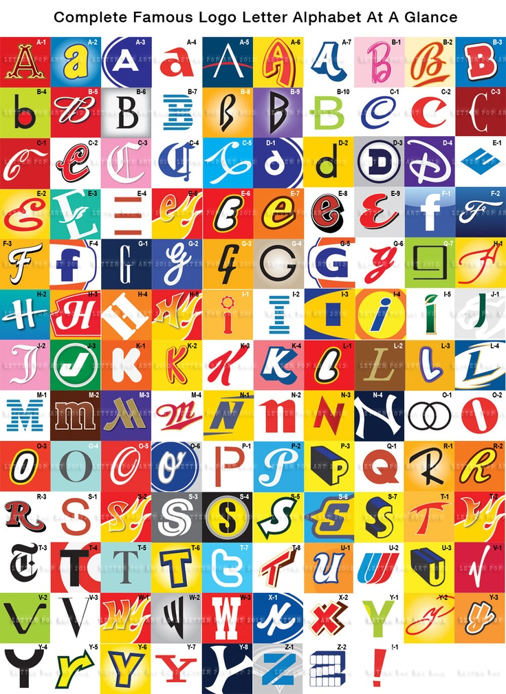 Alphabet Pop Art Print Using Harley Davidson Logo Letter Y