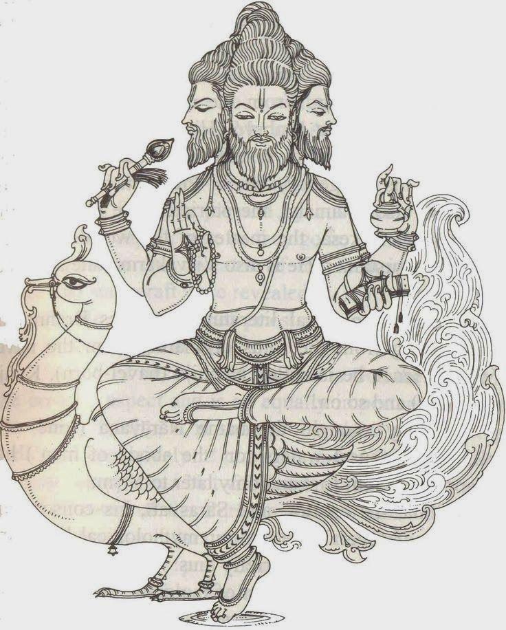 Brahma The Creator HiNDU GOD arboldela vida0003