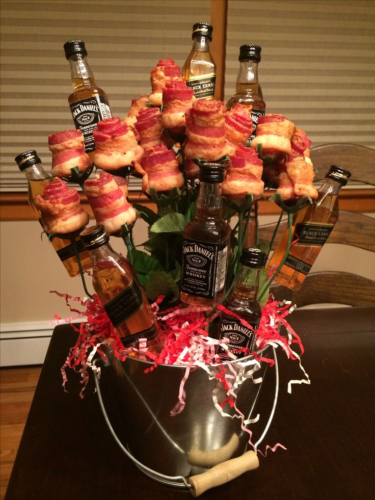 Booze Amp Bacon Bacon Roses With Jack Daniels And Johnny