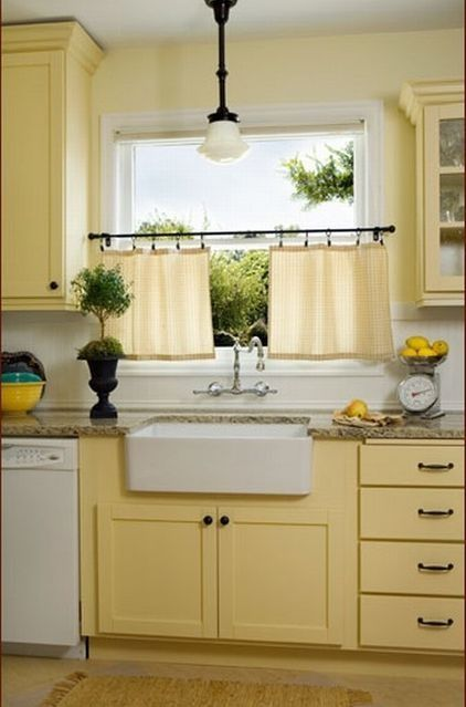 Seafoam Green And Yellow Kitchen Pale Yellow Kitchen Walls Traditional Kitchen By Donna
