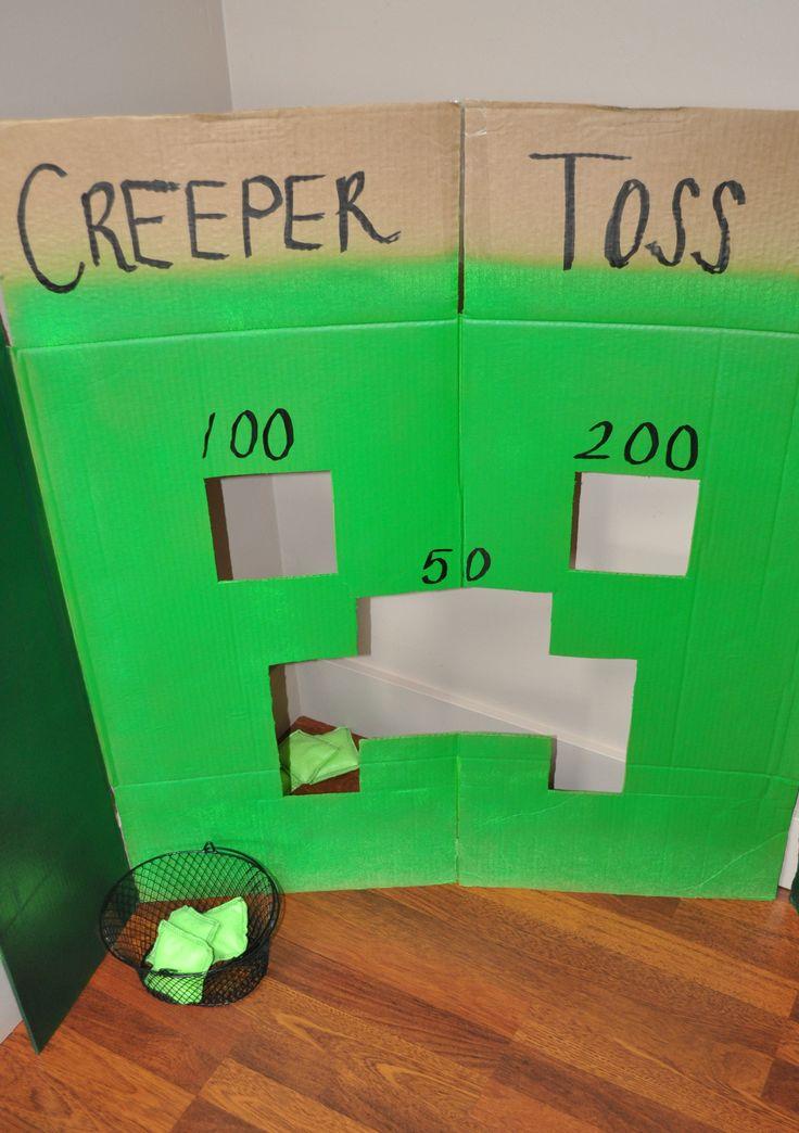 Cumpleanos Creeper Face Cool Minecraft Dibujos Www