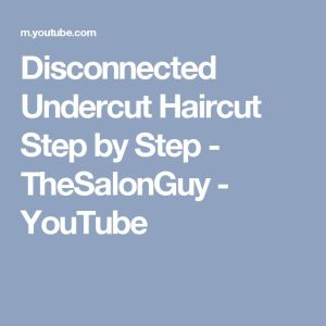 17 Best ideas about Disconnected Haircut on Pinterest