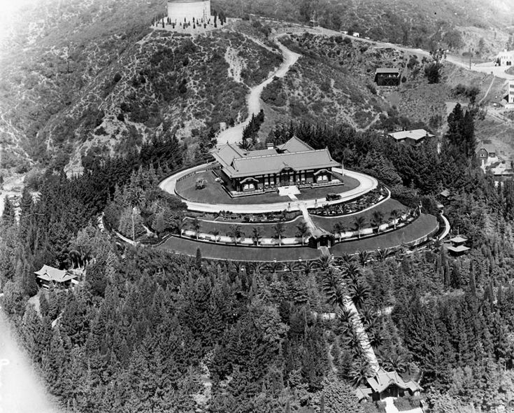 Now Yamashiro (ca. 1925)* Aerial view of the Japanese