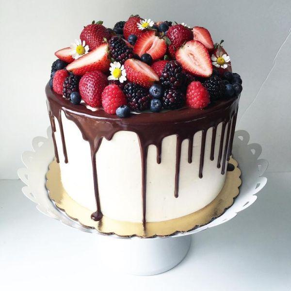 Image result for lavish drip cake ivory