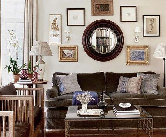 Decorating Around A Brown Couch Via Homedesign-proprety
