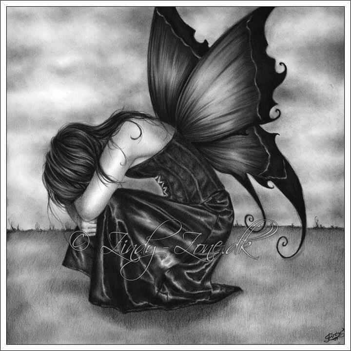Even angels cry... Tattoos Pinterest Angel
