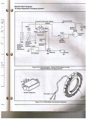 Kohler Engine Electrical Diagram | Re: Voltage regulatorrectifier Kohler Allis Chalmers in