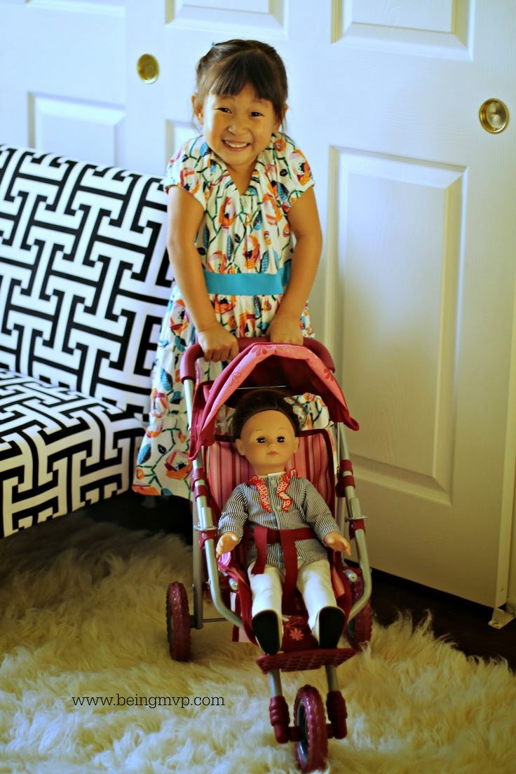 being MVP HABA Gotz Doll Stroller & Car Seat Review