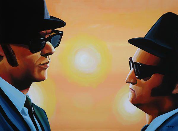 Blues Brothers Tattoo Knuckles