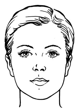 15 best images about Face chart on Pinterest | Watercolor