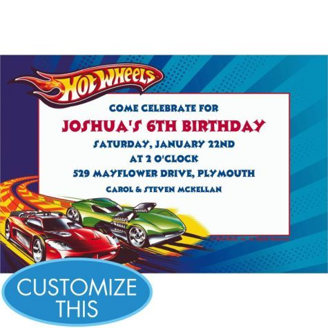 22 Best Images About Party HOT WHEELS On Pinterest Free