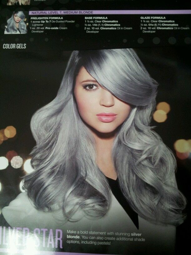 Redkin Silver Hair Love This Hair Inspiration