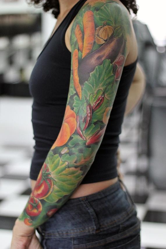 The True Vegan Tattoo... reason why i love tattoos.. when