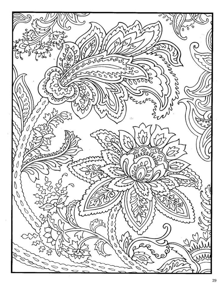 Zentangle Coloring Pages - Abstract Designs by Jooya Teaching ... | 951x736