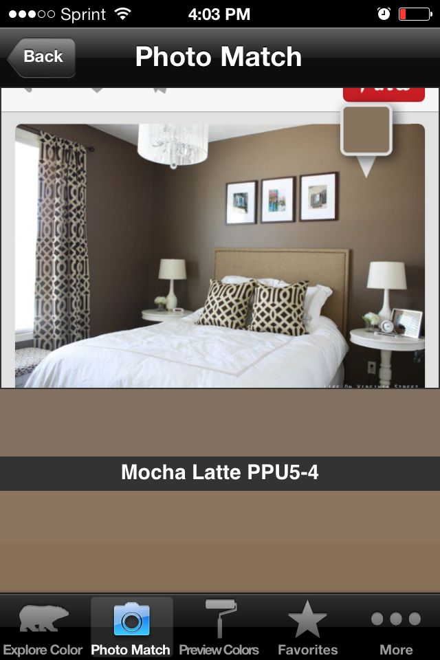 Behr Paint Color Mocha Latte Kitchen Paint Pinterest