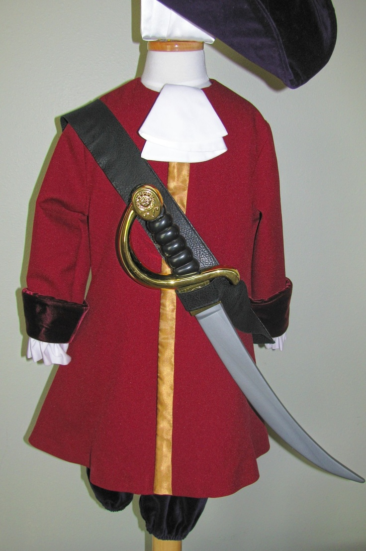 Captain Hook Custom Costume Discover more best ideas