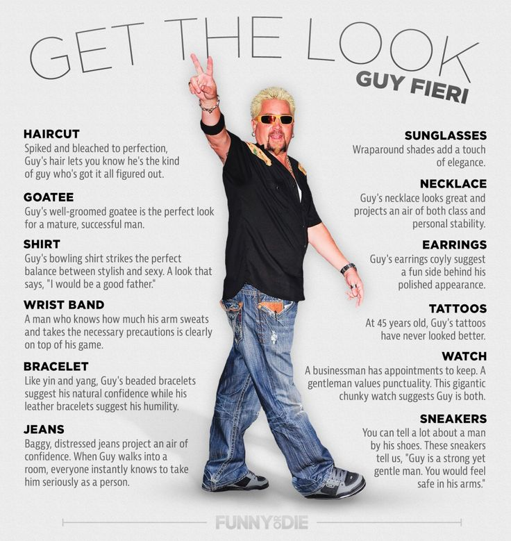 """Get The Look Guy Fieri .tyxgb76aj"""">this, What is this"""