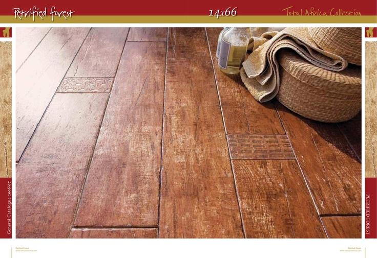 Porceline tile that looks like wood flooring. Winter