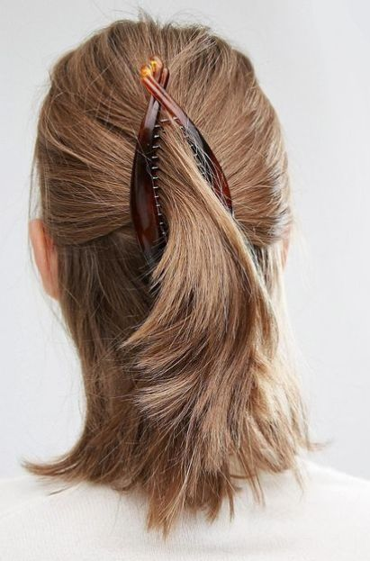 The Banana Hair Clip Is Back, Here's Some Styles We Love ...