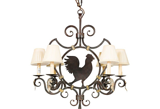 Rooster Chandelier Lighting Fixtures Pinterest Chandeliers Pool Table And Mdo Plywood