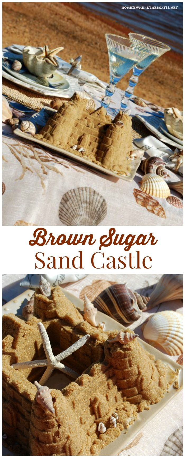 Brown Sugar Sand Castle with Nordic Ware Castle Bundt Pan
