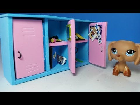 DIY Doll Lockers For LPS Or MLP YouTube Video Mini