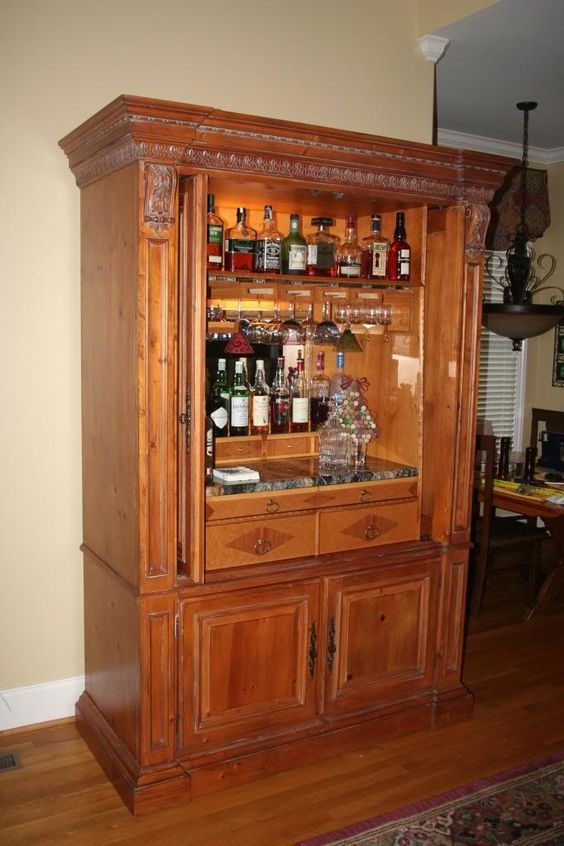 Repurpose Entertainment Center For Coffee Bar Google
